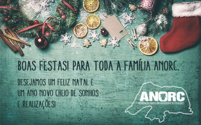 Boas Festas! Para toda a família ANORC.