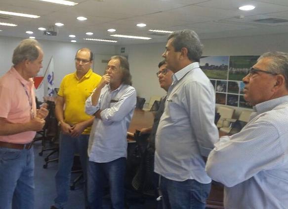 Reunião na Associação Brasileira dos Criadores de Zebu – ABCZ